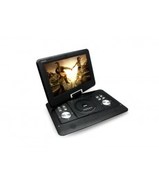 """DVD PORTATIL BAK 1509 15.0"""" TV/SD/ NEGRO"""