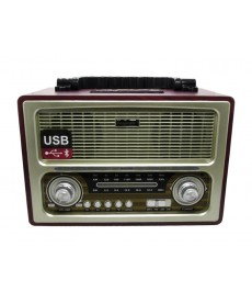 RADIO ECOPOWER BAT/REG/SD/USB/BT/EP-209