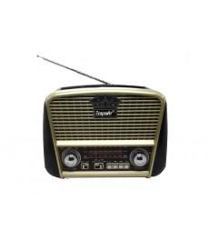 RADIO ECOPOWER BAT/REG/SD/USB/BT/EP-108