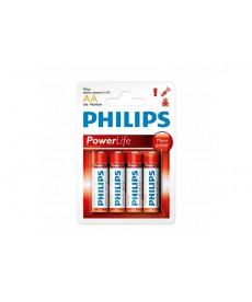 PILA ALCALINA PHILIPS AA*4