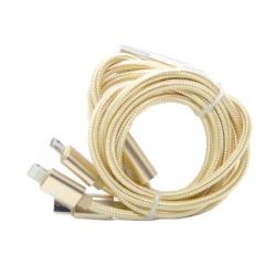 CABLE USB CARGADOR ECOPOWER - 3 EN 1 - EP-6036