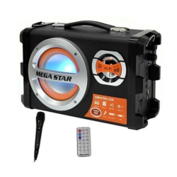 PARLANTE MEGASTAR HYK55BT - USB - SD - BLUETOOTH - CONTROL