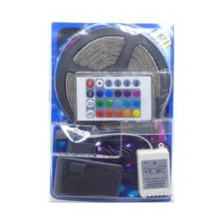 CINTA LED - 5 METROS - 300 LEDS - 12V - FUENTE - CONTROL