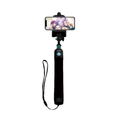 BASTON MONOPOD QUANTA - 2500 - BLUETOOTH - 96 CM - NEGRO