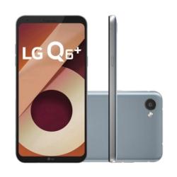 CELULAR LG Q6+ M700A - 64GB - 5.5 PULGADAS - 2 CHIPS - PLATINIUM