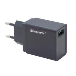 CARGADOR ECOPOWER UNIVERSAL - 1 USB - EP-7066 - 3.0 AMP
