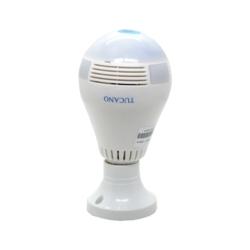 LAMPARA CON CAMARA SMART V380 - WIFI - 360 GRAUS - TUCANO