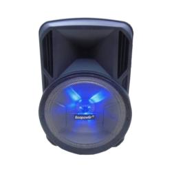 SPEAKER ECOPOWER 15 PULGADAS EP-1921 - BLUETOOTH - USB - 1 MICROFONO SIN HILO