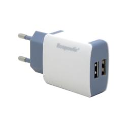 CARGADOR UNIVERSAL ECOPOWER - EP-70665 - 2 USB - BIVOLT - 2.1A