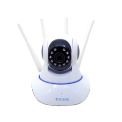 CAMARA IP SMART CAM - HD - WIFI - 4 ANTENAS - TUCANO TC-YT-B88