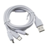 CABLE USB ECOPOWER - TIPO C - V8 - IPHONE - 6059