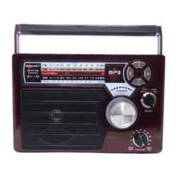 RADIO SOLAR ECOPOWER EP-F117B RECARGABLE/USB/BT/SD