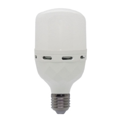 LAMPARA LED ECOPOWER EP-5908 30W/EMERGENCIA - BLANCO
