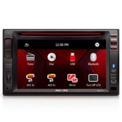 "DVD AUTOMOTIVO PHILIPS CED-1500 6.2"" USB/BLUETOOTH"