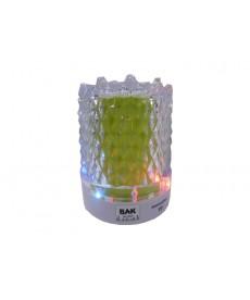 PARLANTE BAK BK-S299 FM/SD/USB VERDE( BRILLA )