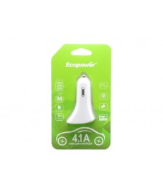 CARGADOR ECOPOWER UNIVERSAL 3-USB/12-24V/ EP7050